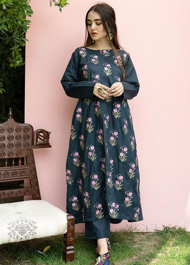 Mannat Clothing Casual Pret  Lawn Frock ASTER