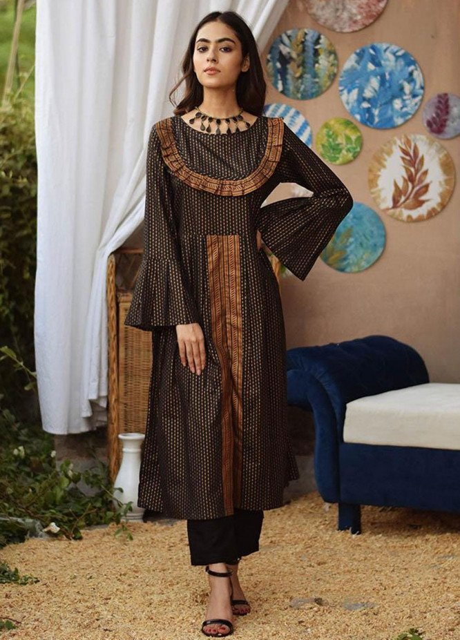 Mannat Clothing Casual Pret  Cambric Frock REGALITY