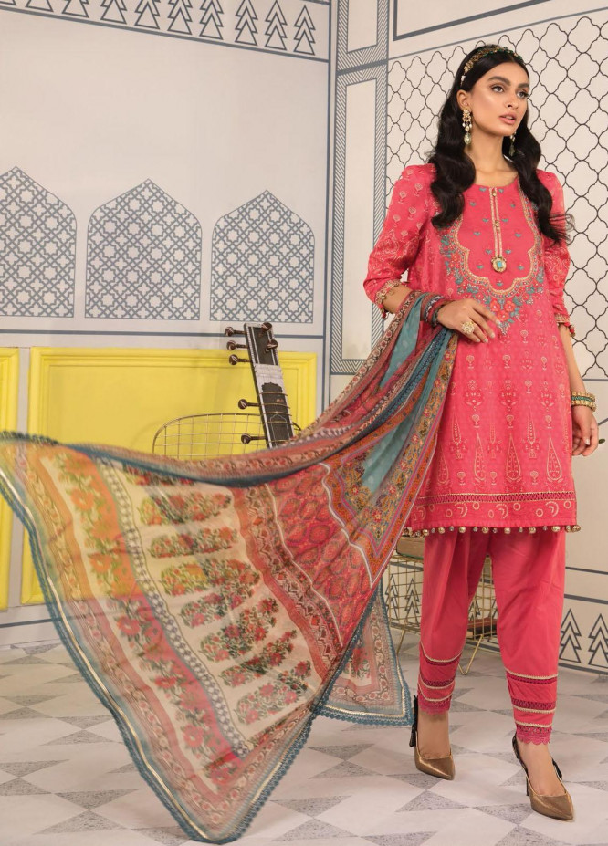 Mprints By Maria B Printed Lawn Suits Unstitched 3 Piece MB21-MP2 1111-B - Summer Collection