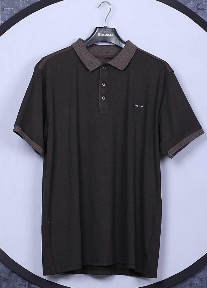 Sanaulla Exclusive Range Cotton Casual T-Shirts for Men -  5133 Black