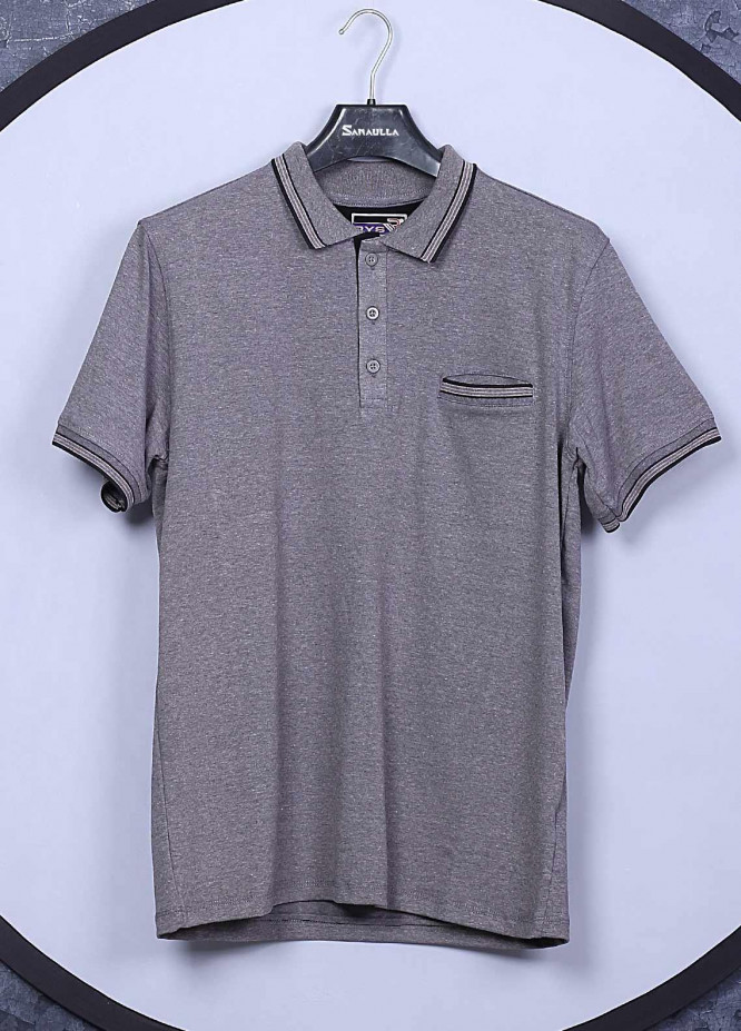 Sanaulla Exclusive Range Cotton Casual T-Shirts for Men -  5143 Light Grey