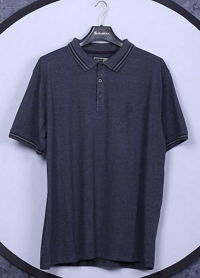 Sanaulla Exclusive Range Cotton Casual T-Shirts for Men -  5148 Blue