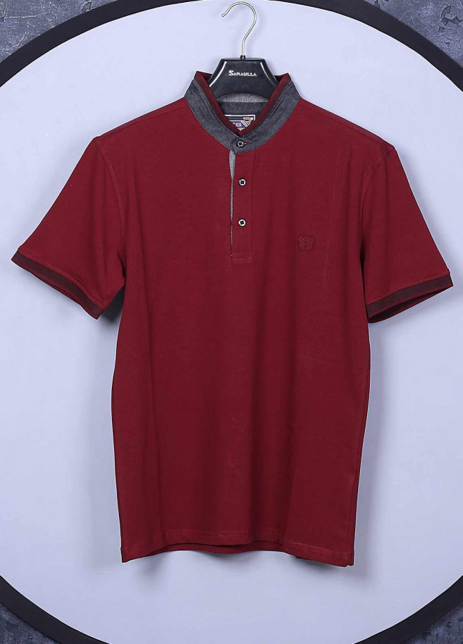 Sanaulla Exclusive Range Cotton Casual Mens T-Shirts -  5368 Red