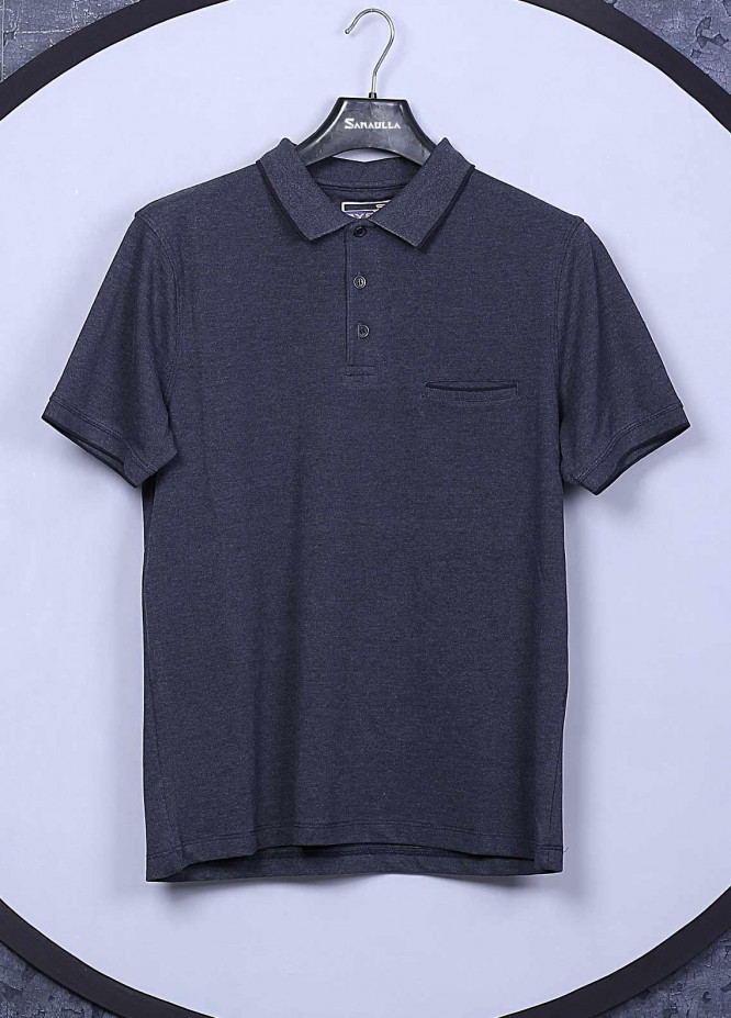 Sanaulla Exclusive Range Cotton Casual Men T-Shirts -  5595 Light Blue