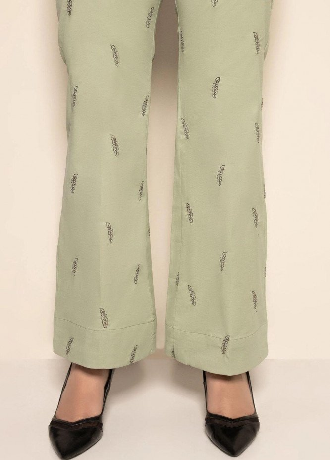Mohagni Embroidered Cotton Trouser EMT-21-03