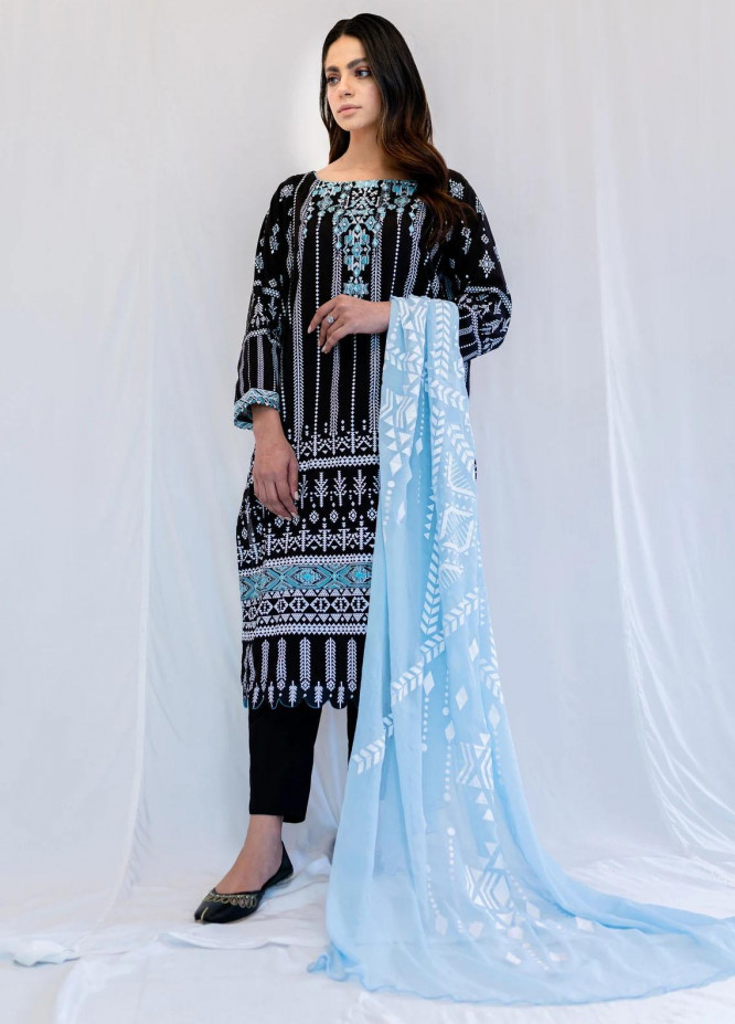 Mohne By Seroli Embroidered Lawn Suits Unstitched 3 Piece  SRL21M 05  - Summer Collection