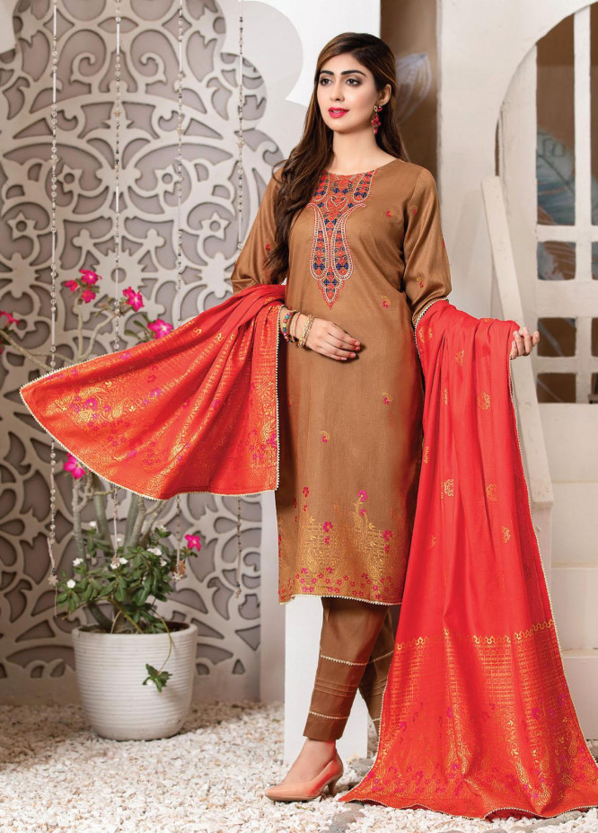 Imperial by MTF Embroidered Lawn Suits Unstitched 3 Piece MTF21I 05 - Summer Collection