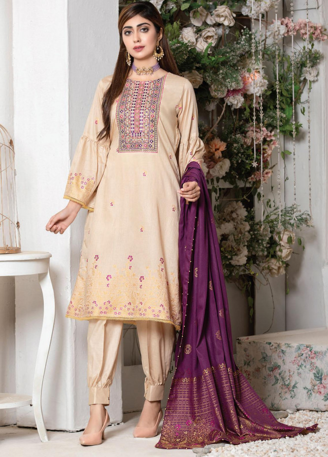Imperial by MTF Embroidered Lawn Suits Unstitched 3 Piece MTF21I 06 - Summer Collection