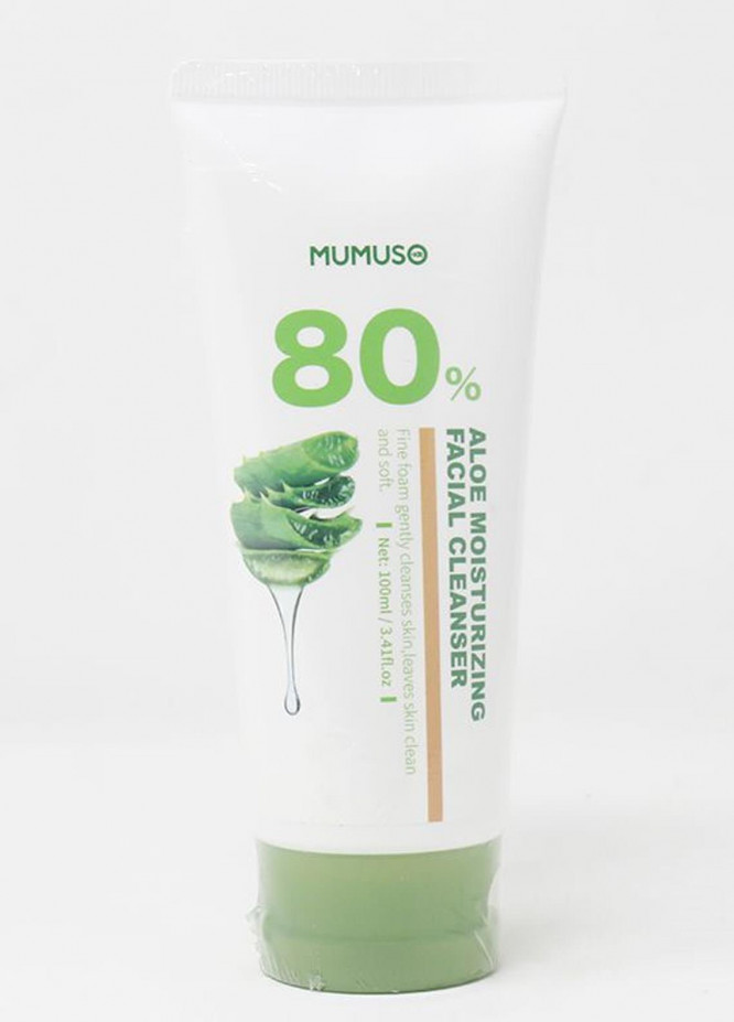 Mumuso Aloe Cleansing Foam
