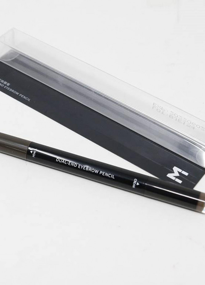 Mumuso Dual-End Eyebrow Pencil