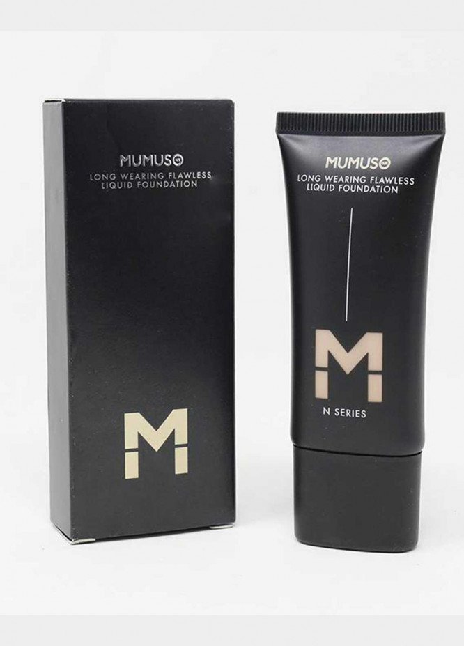 Mumuso LONG WEARING FLAWLESS LIQUID FOUNDATION-N SERIES (N06-MATTE)