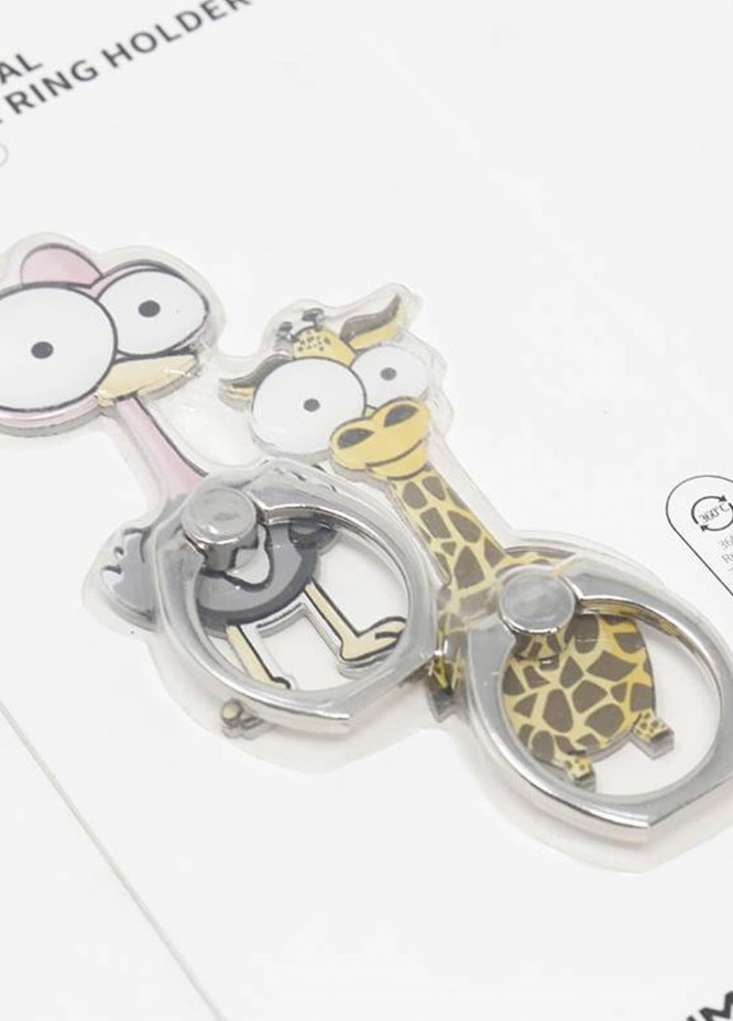 Mumuso Forest Animal Cell Phone Ring Holder-1