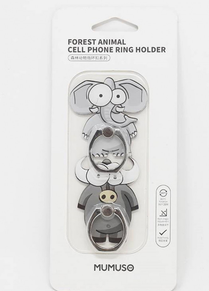 Mumuso Forest Animal Cell Phone Ring Holder-2