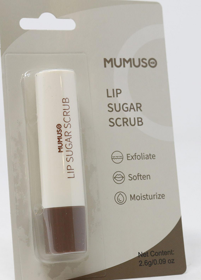 Mumuso Brown Sugar Lip Scrub