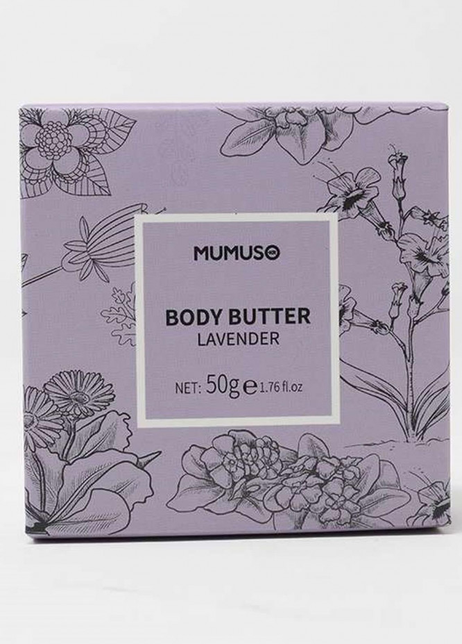 Mumuso Lavender Nourishing Body Butter