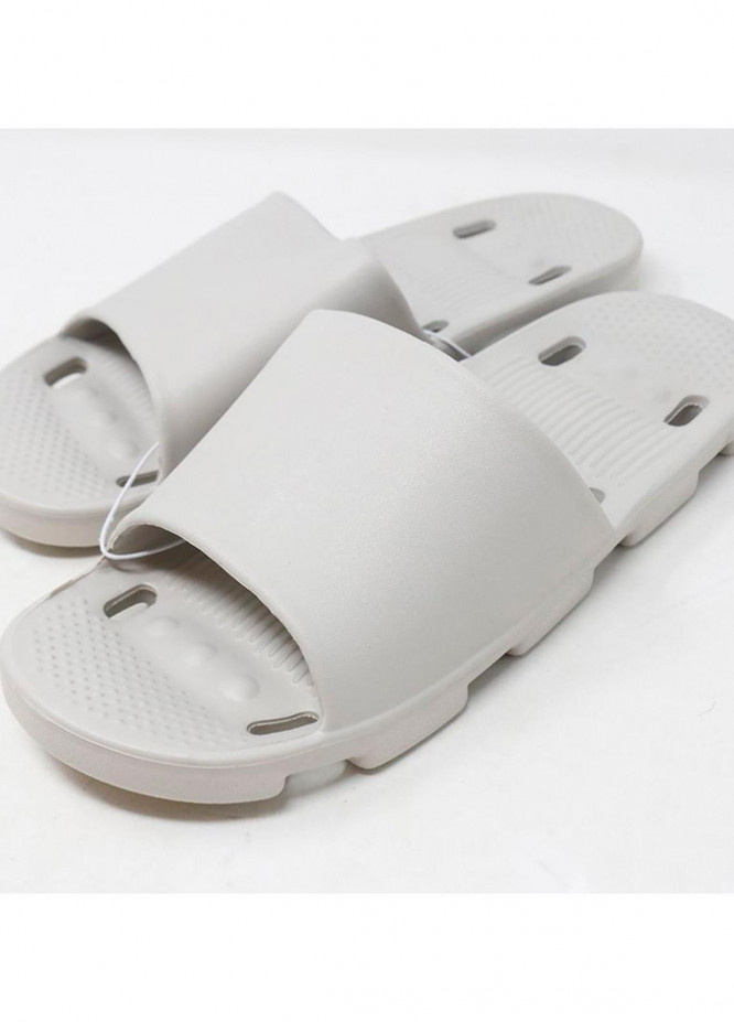 Mumuso Casual Style  Flat Slippers BATHROOM SLIPPERS