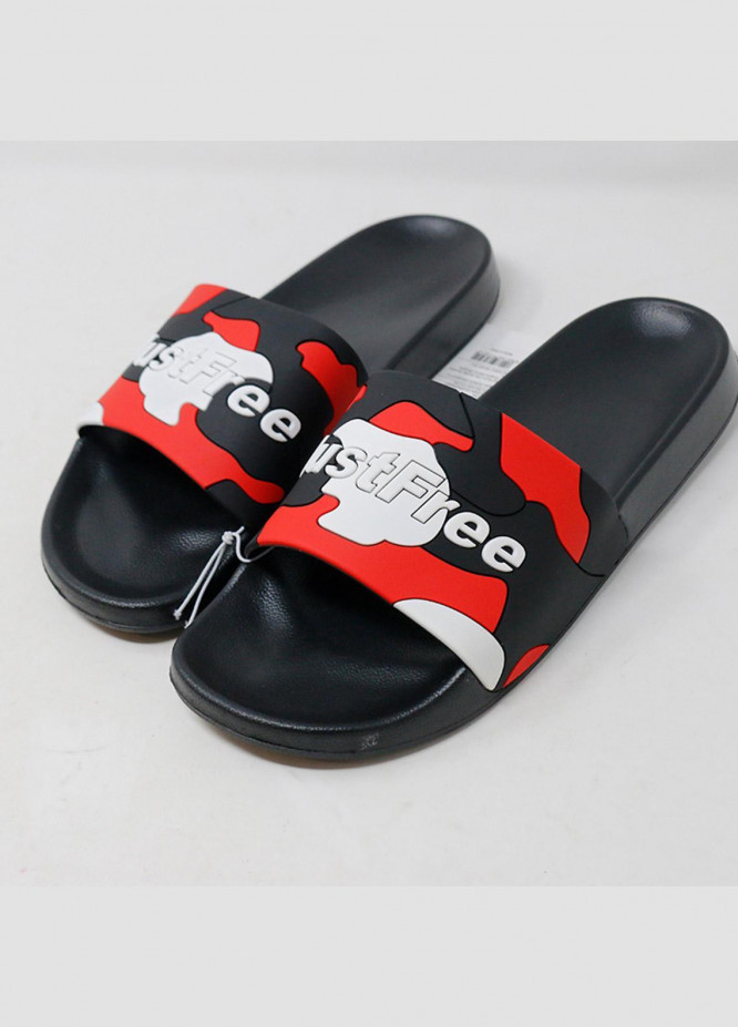 Mumuso Casual Style  Flat Slippers 42 Black
