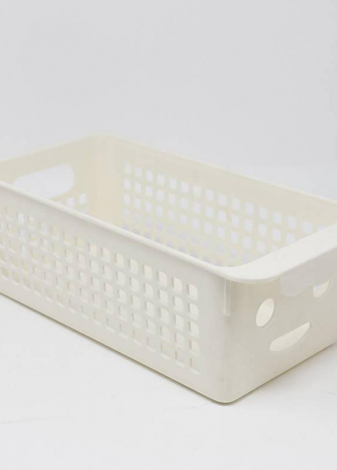 Mumuso SMILING FACE STORAGE BASKET (MIDDLE SIZE)