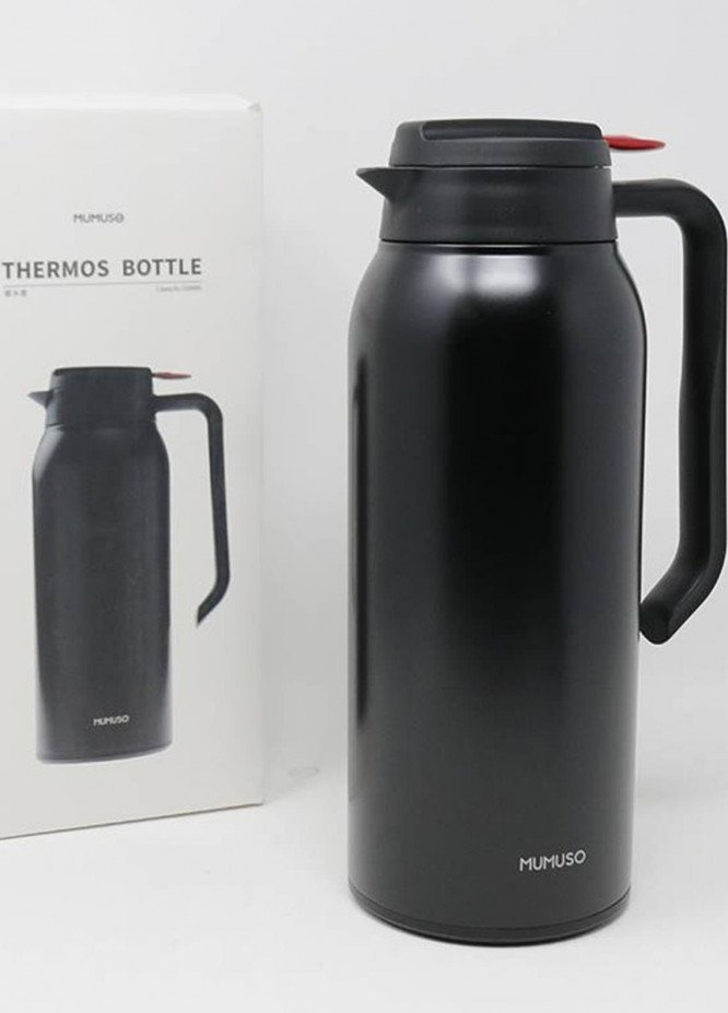 Mumuso THERMOS BOTTLE-1500ML-BLACK