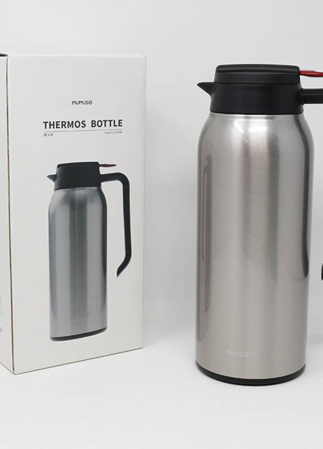 Mumuso THERMOS BOTTLE-1500ML-GOLD