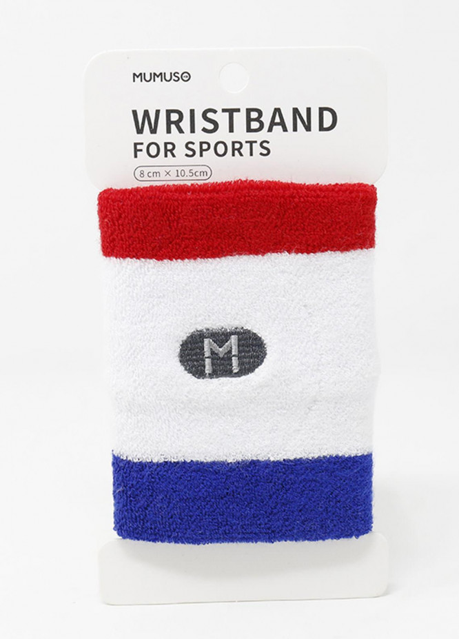 Mumuso WRISTBAND FOR SPORTS-RED & BLUE