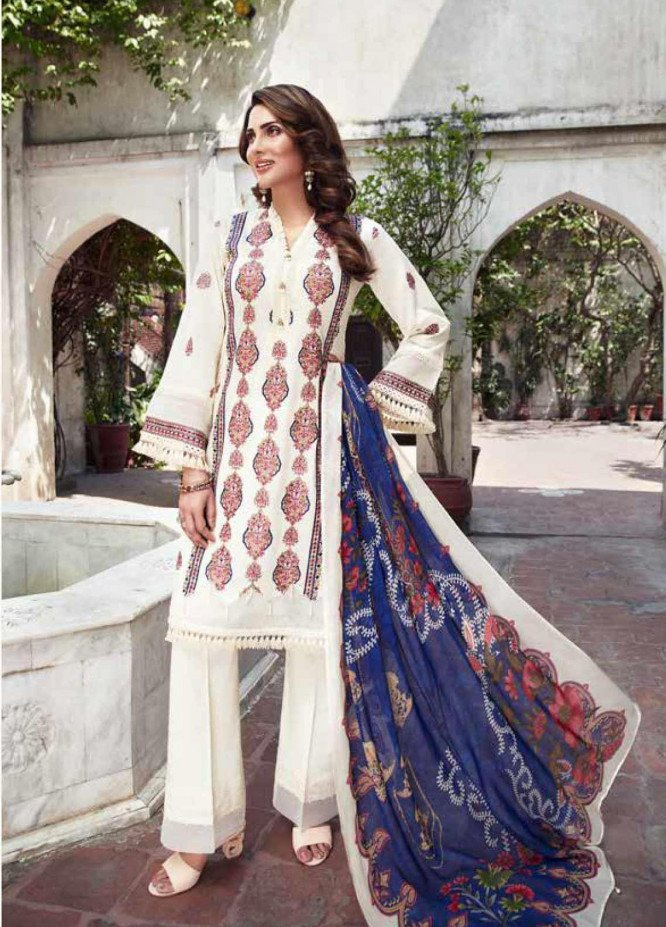 Mushk by Mohagni Embroidered Lawn Unstitched 3 Piece Suit MO20MU SE 09 - Spring / Summer Collection