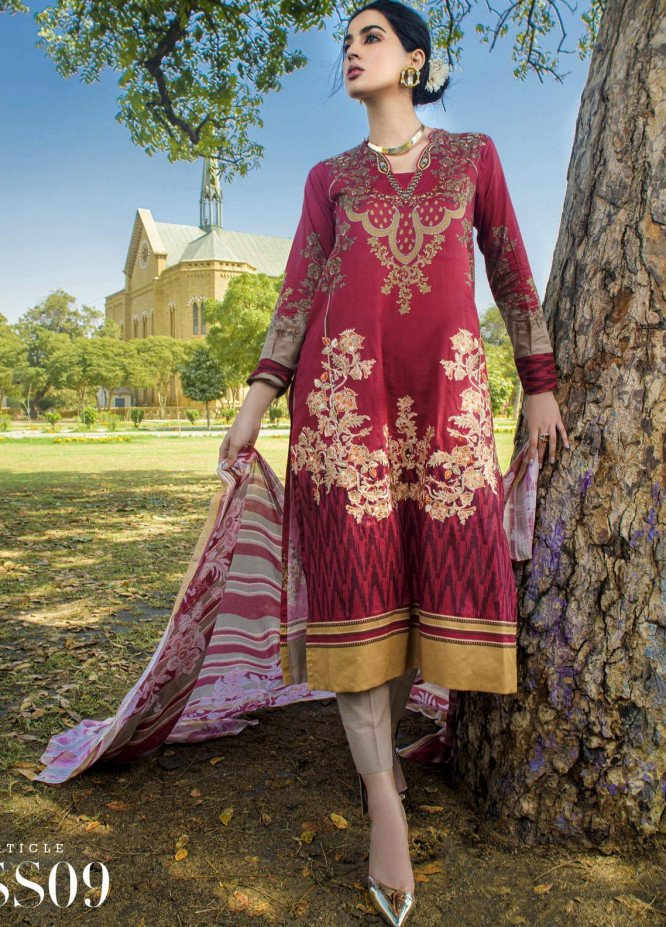 Mystique Embroidered Lawn Suits Unstitched 3 Piece MYS21SS 09 - Spring / Summer Collection