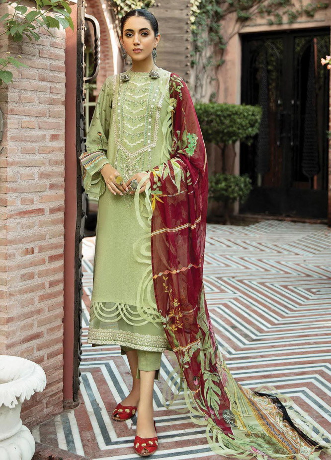 Naazaan Faixa Faixal by Ittehad Textiles Embroidered Viscose Suits Unstitched 3 Piece IT21NF NZ-05 ROSHANARA - Winter Collection