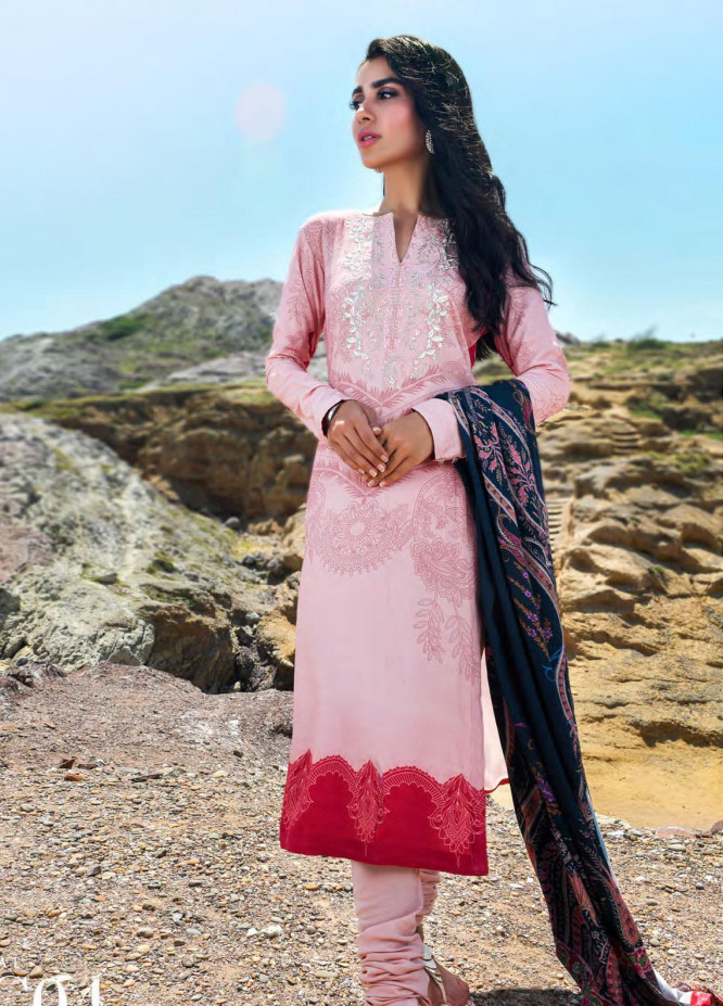 Nova by Mystique Embroidered Viscose Unstitched 3 Piece Suit MYS20N 04 - Winter Collection