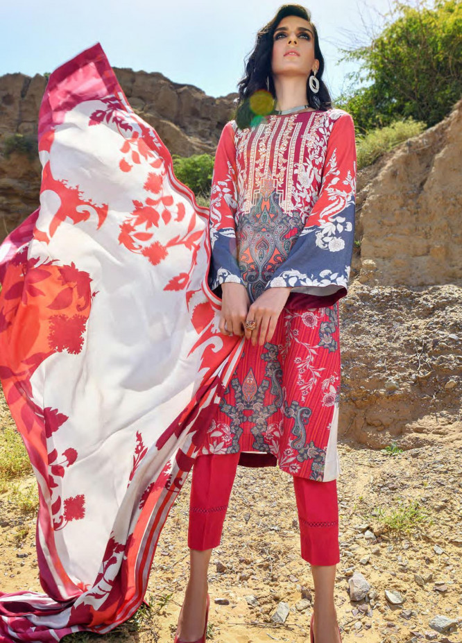 Nova by Mystique Embroidered Viscose Unstitched 3 Piece Suit MYS20N 07 - Winter Collection