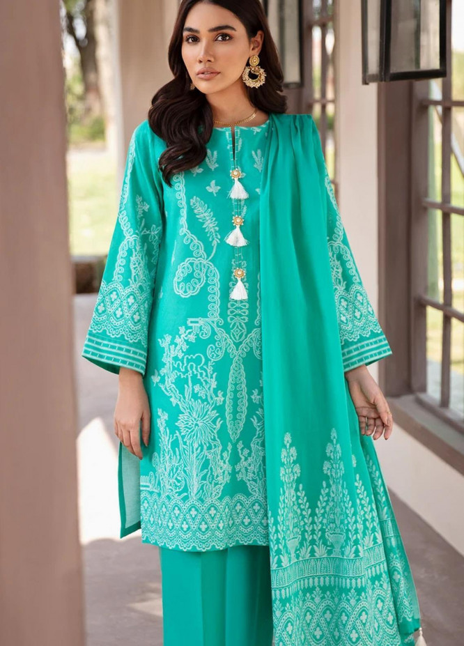 Darmiyaan by Orient Textile Embroidered Jacquard Suits Unstitched 3 Piece OT21FJ NRDS-255-Green - Festive Collection