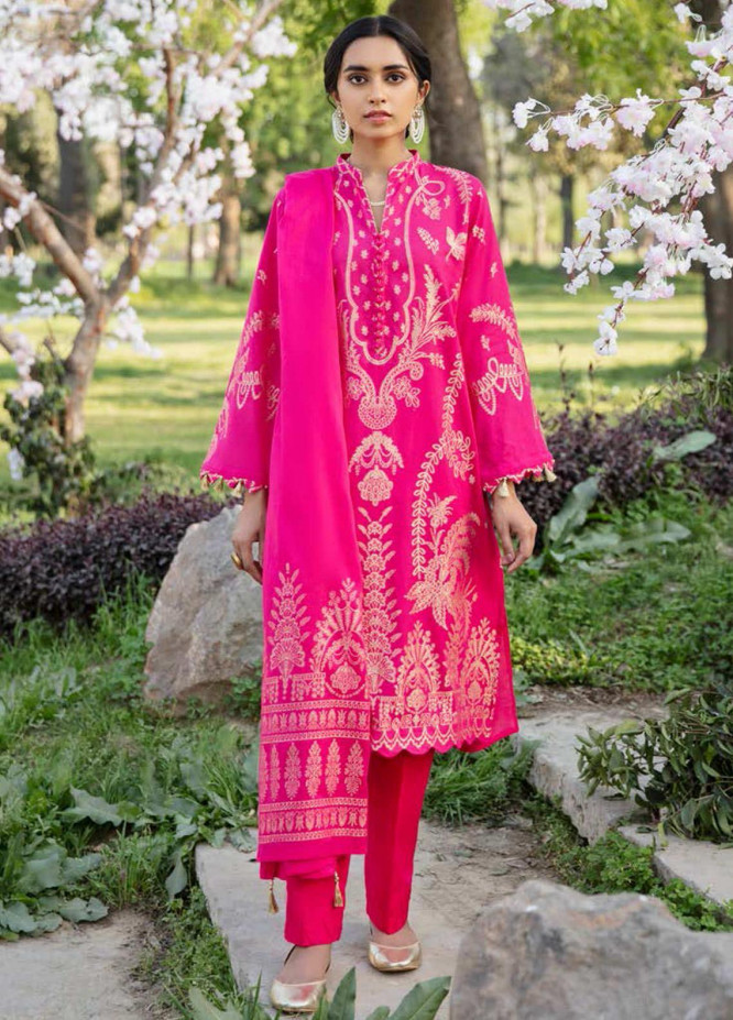 Darmiyaan by Orient Textile Embroidered Jacquard Suits Unstitched 3 Piece OT21FJ NRDS-257-Pink - Festive Collection