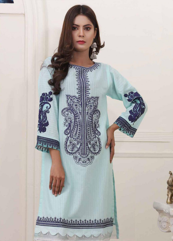 Oture Embroidered Cambric Stitched Kurtis OT20CW OSJE1S200032