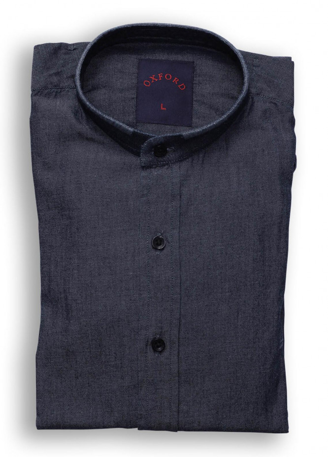 Oxford Cotton Casual Shirts for Men - Light Gray SH 1491 CHARCOAL