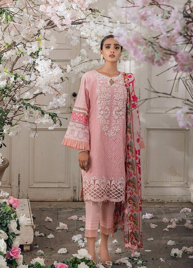Parizeh by Al Zohaib Embroidered Chikankari Suits Unstitched 3 Piece AZ21CP D-01 - Winter Collection