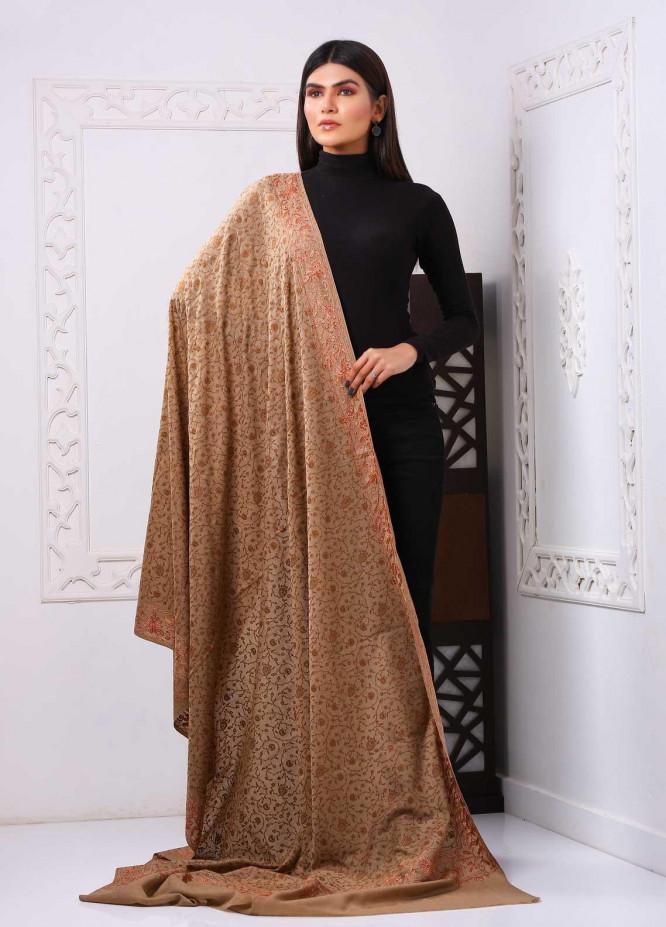 Sanaulla Exclusive Range Embroidered Premium Pashmina  Shawl PRMSH 323926 - Premium Pashmina Shawls