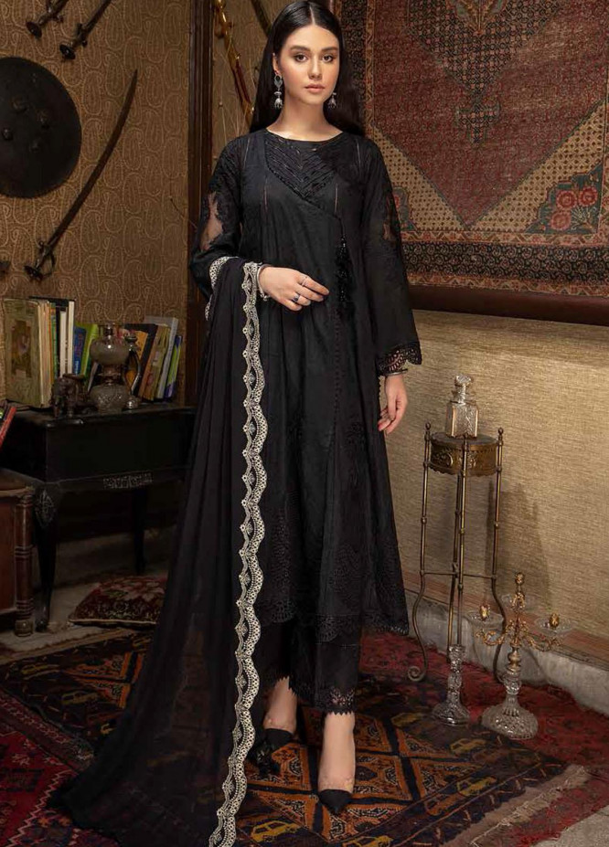 Qara by Charizma Embroidered Lawn Suits Unstitched 3 Piece CRZ21QB CQ-05 - Summer Collection
