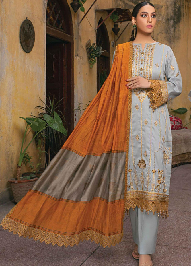 Raaya by Rang Rasiya Embroidered Lawn Suits Unstitched 3 Piece RY21L 06 - Premium Collection