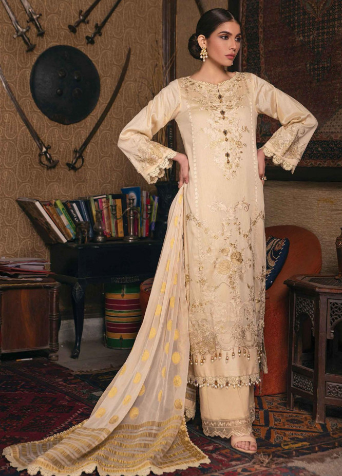 Raaya by Rang Rasiya Embroidered Lawn Suits Unstitched 3 Piece RY21L 11 - Premium Collection