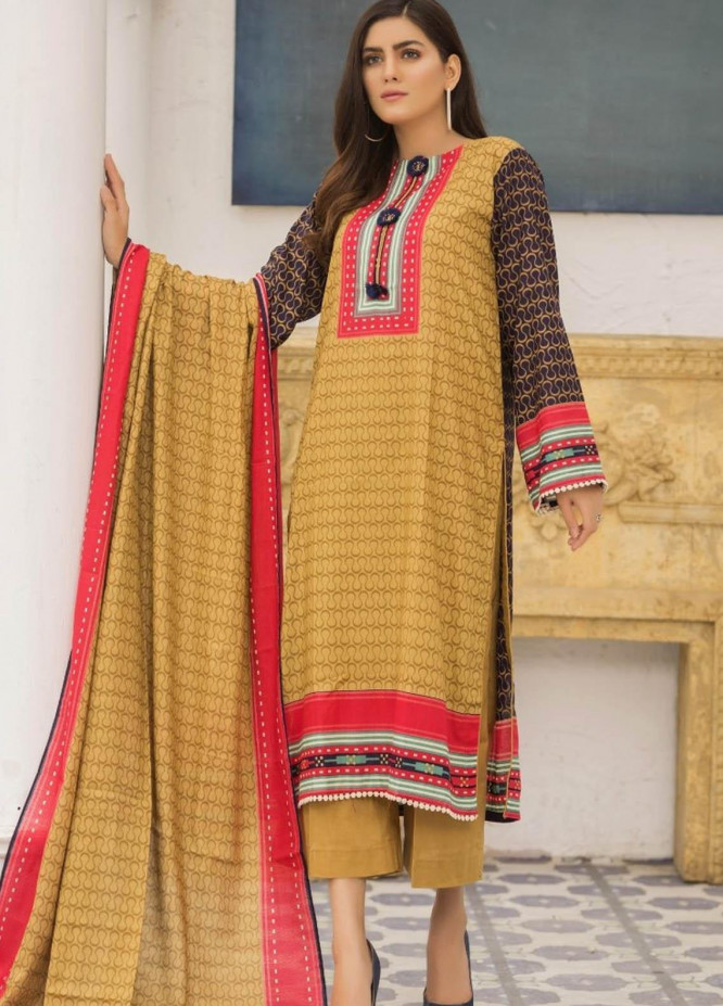Ittehad Textiles Printed Lawn Suits Unstitched 3 Piece IT21R LF-RHT-21722A - Summer Collection