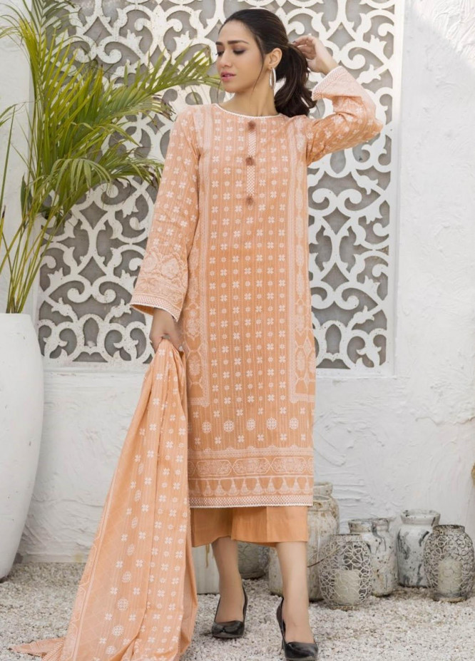 Ittehad Textiles Printed Lawn Suits Unstitched 3 Piece IT21R LF-RHT-21724A - Summer Collection