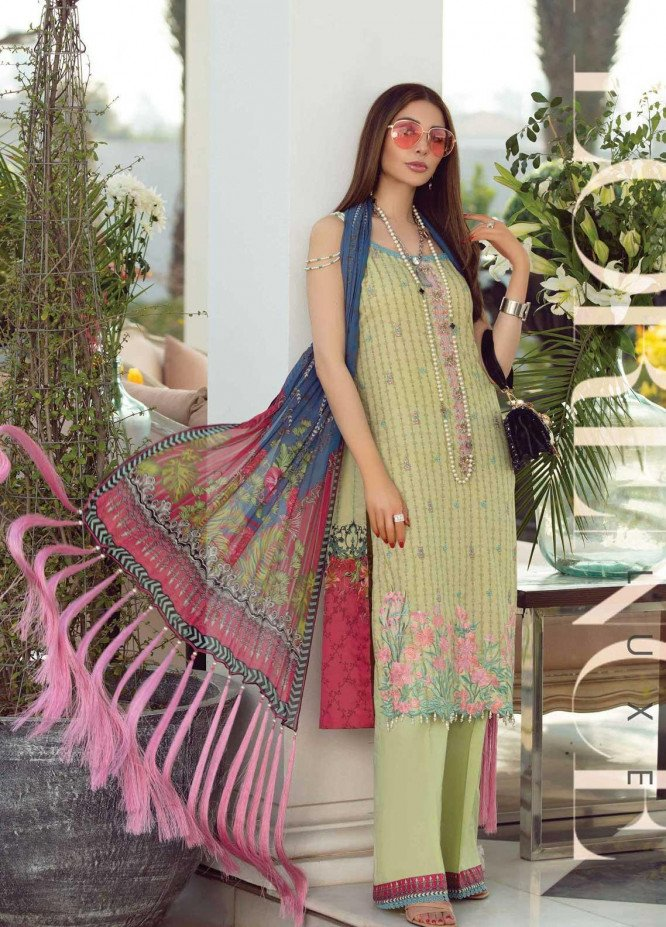 Florence By Rang Rasiya Embroidered Lawn Suits Unstitched 3 Piece RR21F 06 - Summer Collection