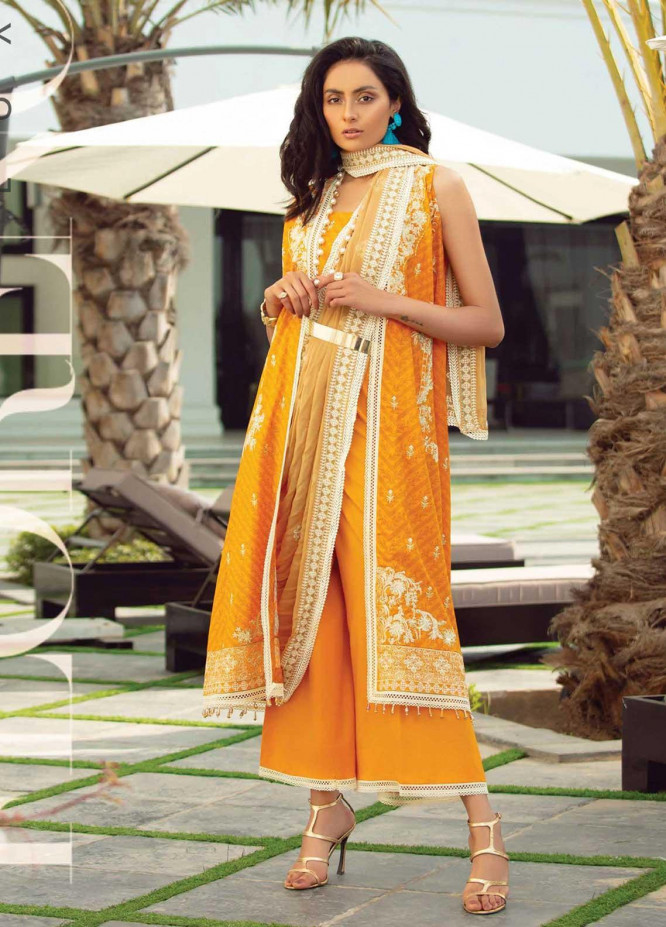Florence By Rang Rasiya Embroidered Lawn Suits Unstitched 3 Piece RR21F 11 - Summer Collection