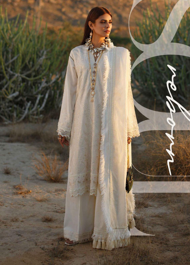 The Soul Saga By Rang Rasiya Embroidered Lawn Suits Unstitched 3 Piece RR21SS 04 Validen - Premium Collection
