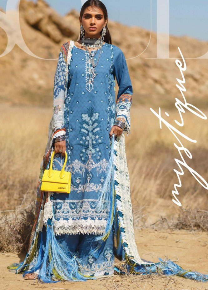 The Soul Saga By Rang Rasiya Embroidered Lawn Suits Unstitched 3 Piece RR21SS 06 Spark - Premium Collection