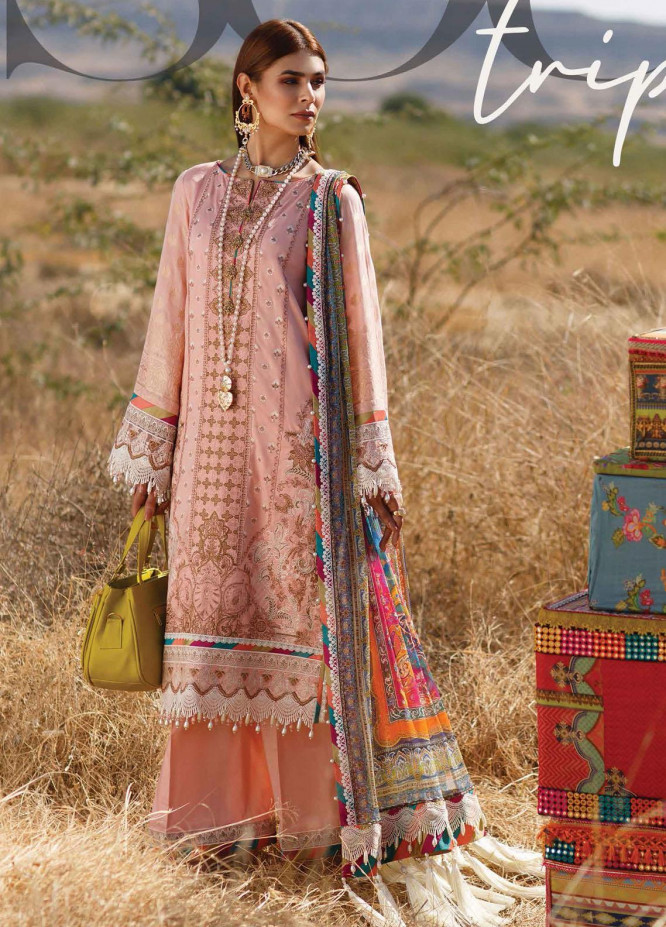 The Soul Saga By Rang Rasiya Embroidered Lawn Suits Unstitched 3 Piece RR21SS 09 Xenya - Premium Collection