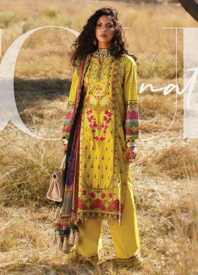 The Soul Saga By Rang Rasiya Embroidered Lawn Suits Unstitched 3 Piece RR21SS 12 Vernsal - Premium Collection