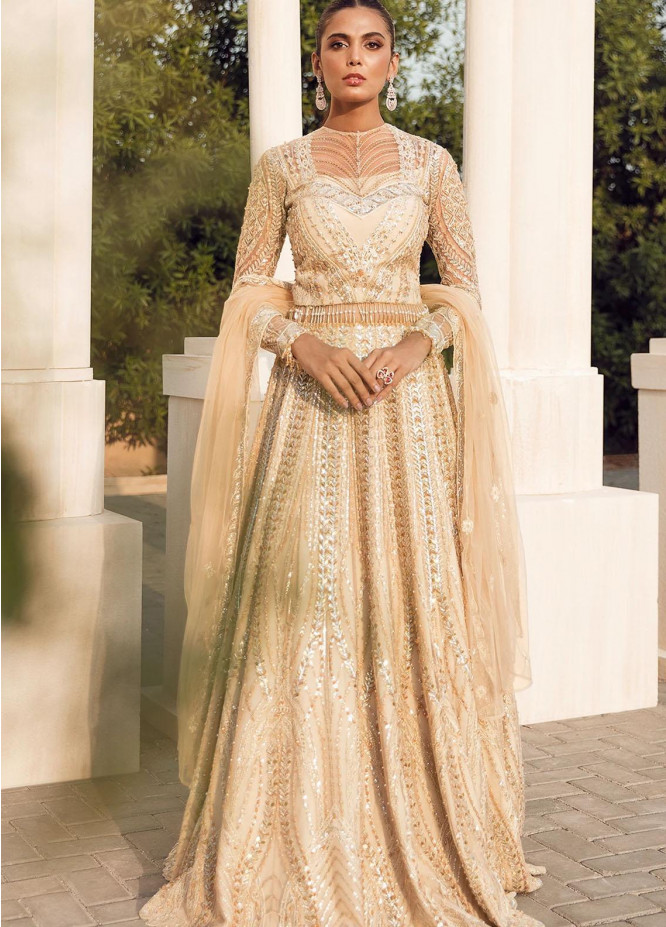 Reignaissance By Reign Embroidered Net Suits Unstitched 3 Piece RGN21WD Adara - Wedding Collection