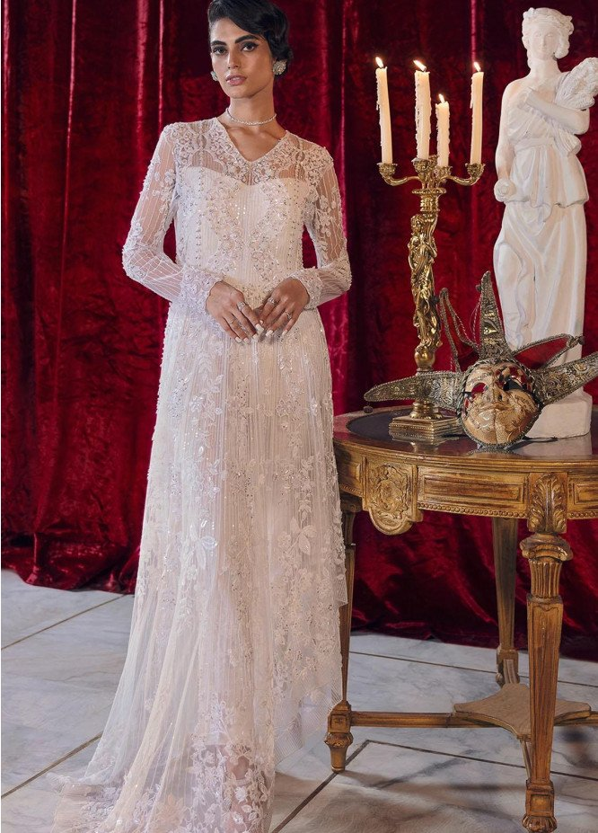 Reignaissance By Reign Embroidered Net Suits Unstitched 3 Piece RGN21WD Celena - Wedding Collection