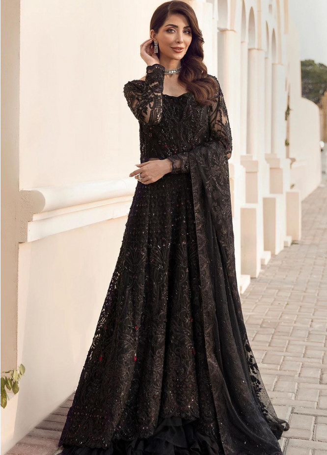 Reignaissance By Reign Embroidered Net Suits Unstitched 3 Piece RGN21WD Melania - Wedding Collection